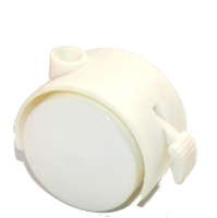 50mm刹车家具轮(白色)