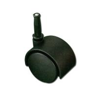 40mm 腳輪(塑膠直軸)