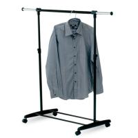 Single-rail Height-adjustable Garment Rack