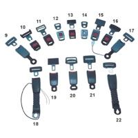 Cens.com BeIt-buckle-lock Assemble RUIAN WANLI CAR FITTING FACTORY