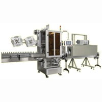 Auto Shrinkable Label Inserting Machine