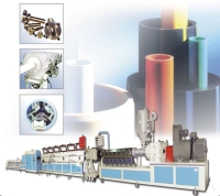 PVC/PP/PE Pipe Extrusion Machine Line