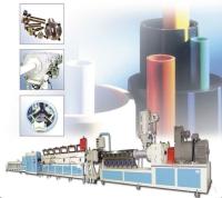PVC/PP/PE管型押出生產線