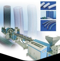 PVC Reinforced Hose Extrusion Machine Line