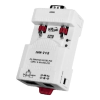 Cens.com Tiny Modbus/TCP to RTU/ASCII Gateway with PoE and 1 RS-232 Port ICP DAS CO., LTD.