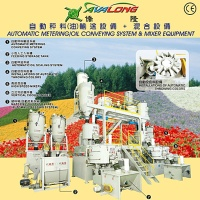 Automatic Metering / Oil Conveying System & Mixer Equipment