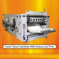 Automatic Facial Tissue Making Machine with Steel to Rubber Embosser