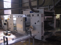 Automatic Hand Towel Making Machine with Steel to Steel Embosser