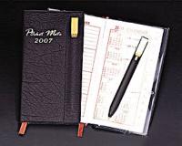 Pocket Diary with Bookmark Ball Pen