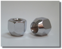 Open End Nut-chrome