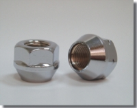 Open End Nut-chrome
