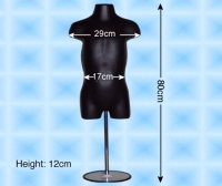 Free-Hanging Children's Torso (1~3-year-old) With Base