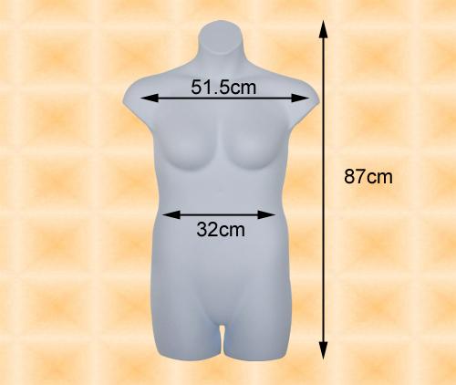 Large-sized Female Mannequin