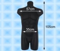 Large-sized Male Torso Mannequin