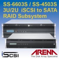 3U / 2U iSCSI to SATA 磁碟陣列儲存系統