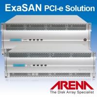 ExaSAN PCI-e Solution高频寛磁碟阵列储存系统