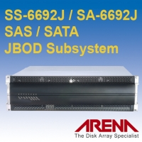 SATA / SAS JBOD enclosure System