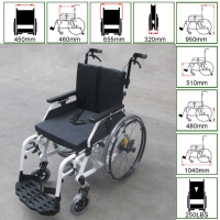 Cens.com Wheelchair w/shock absorber TAIWAN AN I CO., LTD.