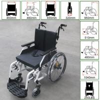 Wheelchair w/shock absorber