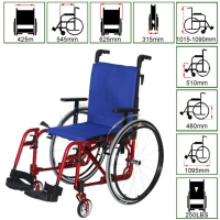 Wheelchair for adults