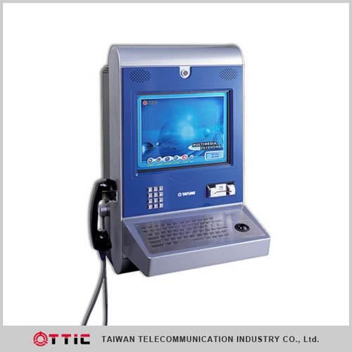Multi-media Payphone