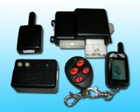 Auto Alarm with Long Range Two Way LCD Car Alarm
