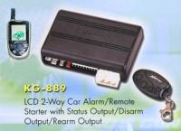 LCD 2-way Car Alarm