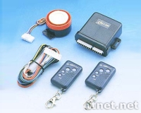 Motorcycle Alarm with Remote Starting System