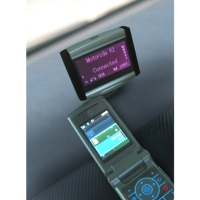 MP3 Bluetooth Handsfree Car Kit with Wireless Remote Control