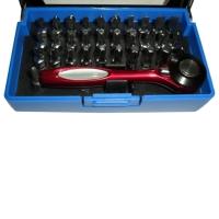 32 pc Mini Wrench & power bit Set