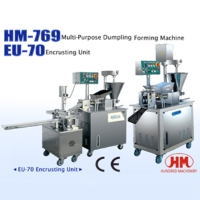 Cens.com Multi-Purpose Dumpling Forming Machine / EU-70 Encrusting Unit HUNDRED MACHINERY ENTERPRISE CO., LTD.