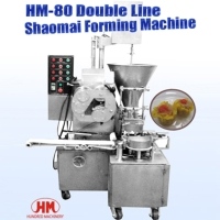 Double Line Shaomai Forming Machine