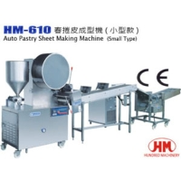 Cens.com Auto Spring Roll / Pastry Sheet Making Machine HUNDRED MACHINERY ENTERPRISE CO., LTD.