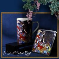 Bone China Mug and Pad Sets