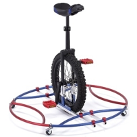 Unicycle learning aid