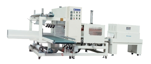 全自動集體PE膜封口收縮包裝機