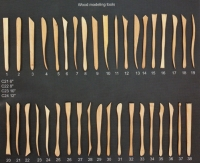 WOODEN MODELING TOOLS