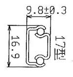 1701 Light-duty Drawer Slides / Steel ball-bearing slide/ Drawer Slide