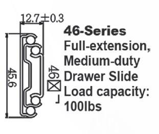 4651 中型滑轨