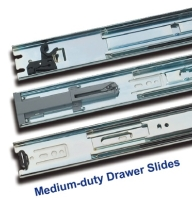 Medium-duty Drawer Slide / Steel ball-bearing slide