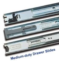 Medium-duty Drawer Slide / Steel ball-bearing slide