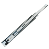 5608 Slide with self- closing system, Heavy-duty Drawer Slide / Steel ball-bearing slide