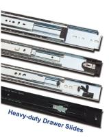 Heavy-duty Drawer Slides