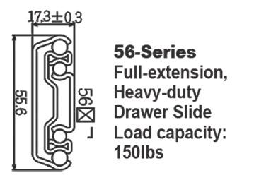 5601重型滑軌