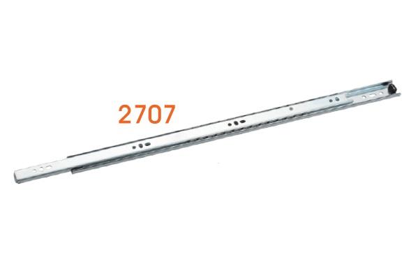 2707 3/4延伸轻型钢珠抽屉滑轨