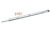 2707 Light-duty Steel ball-bearing slide