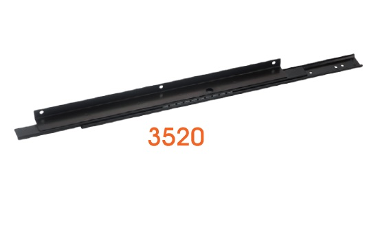 3520  Light-duty Drawer Slide / Steel ball-bearing slide