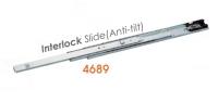 4689 Medium-duty Full Extension Ball Bearing Drawer Slides with interlock