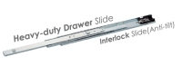 5189 Heavy-duty Draw Slide with Interlock(Anti-tilt)