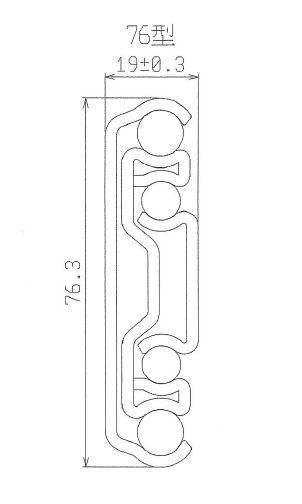 7650N 重型滑轨-安全开/关功能